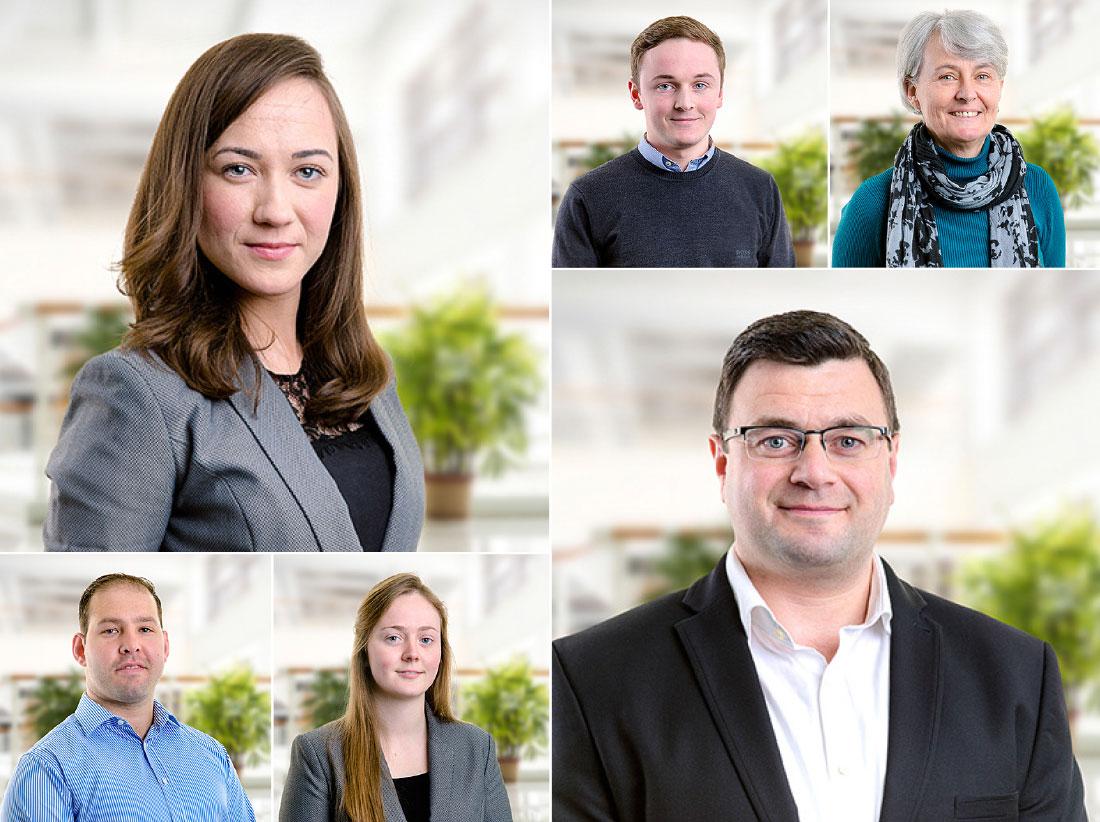 Staff portraits for LinkedIn