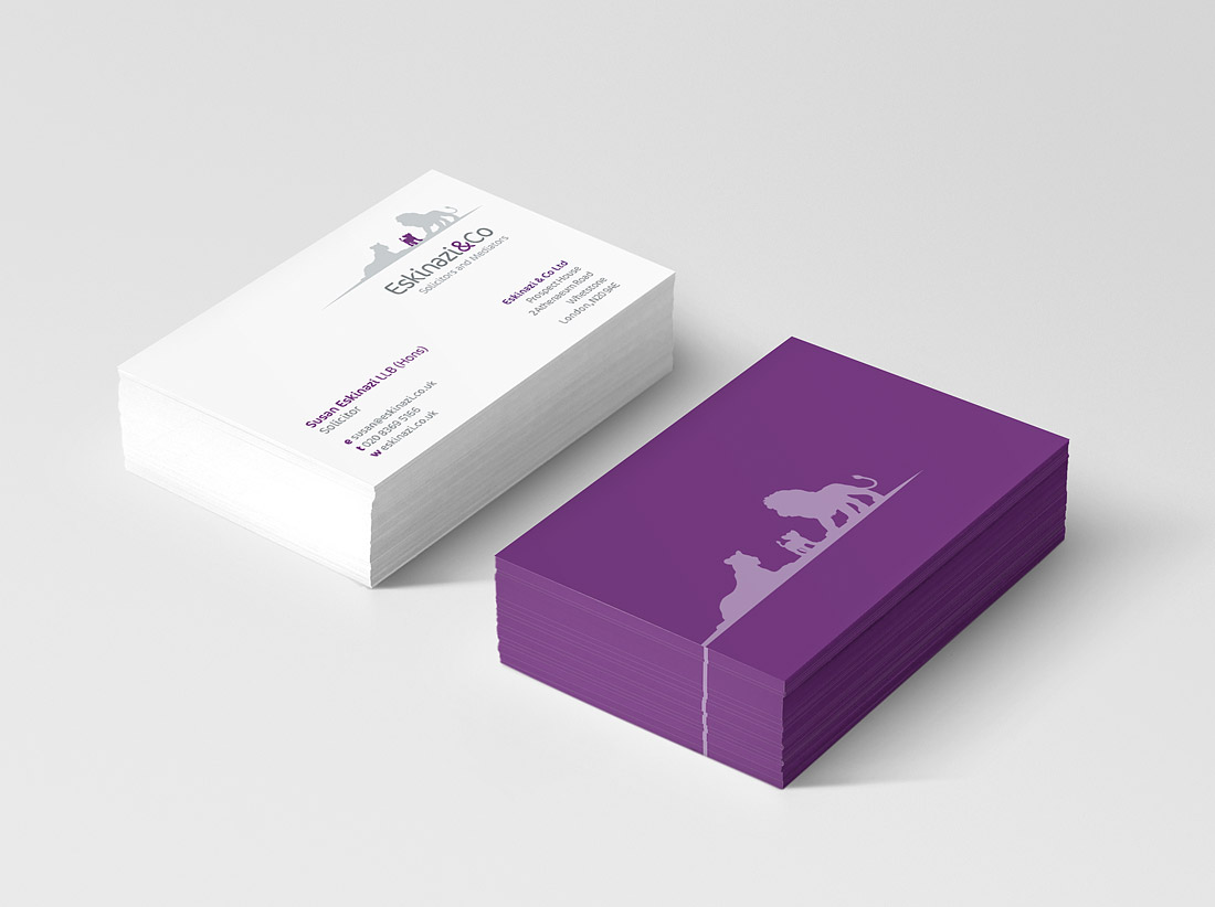Business cards design and print