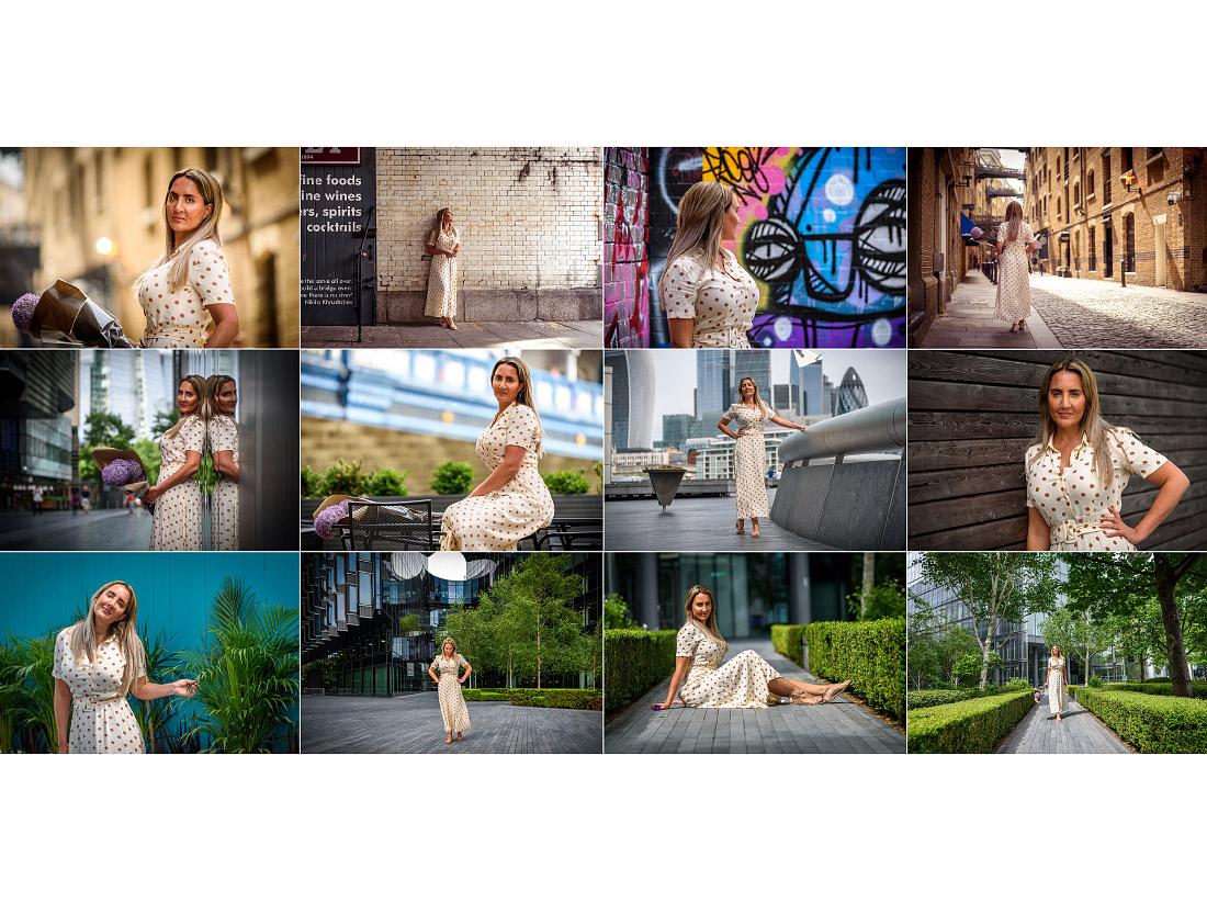 Commercial portrait photoshoot